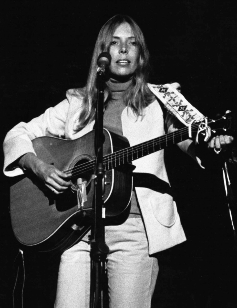 A photo of Joni from 1974.