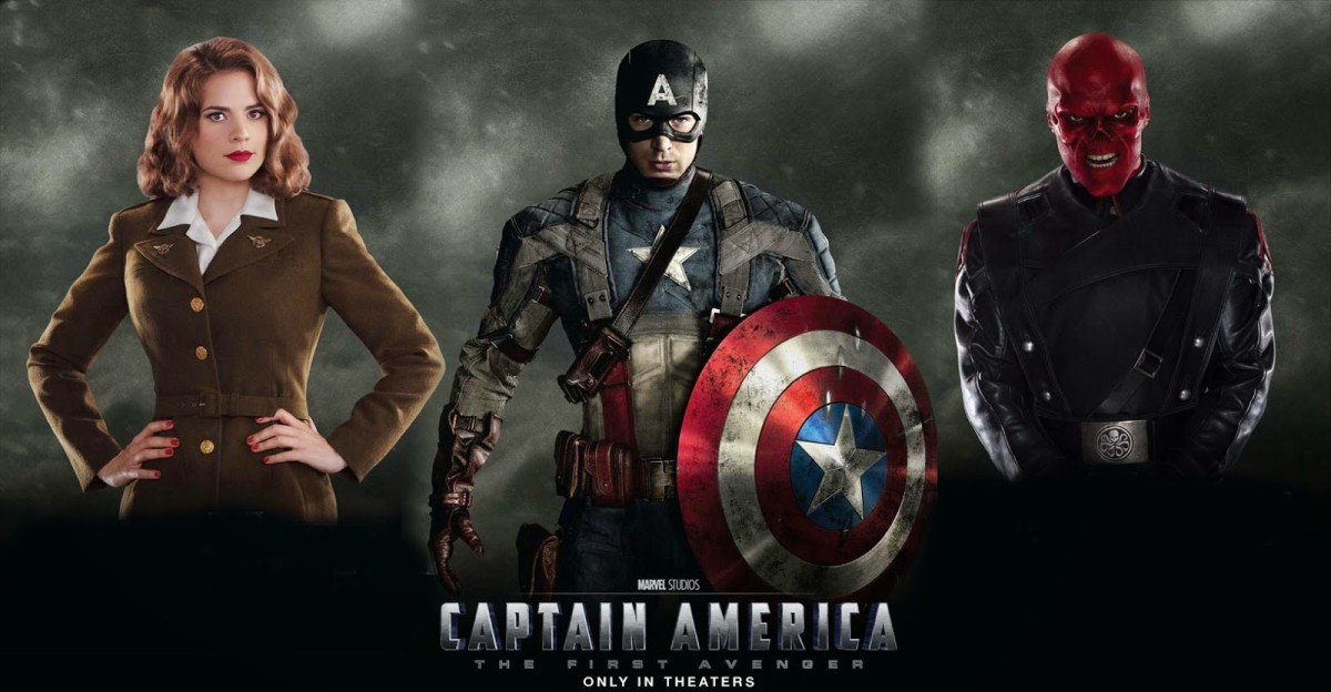 film review: 'captain america: the first avenger' - just a stepping