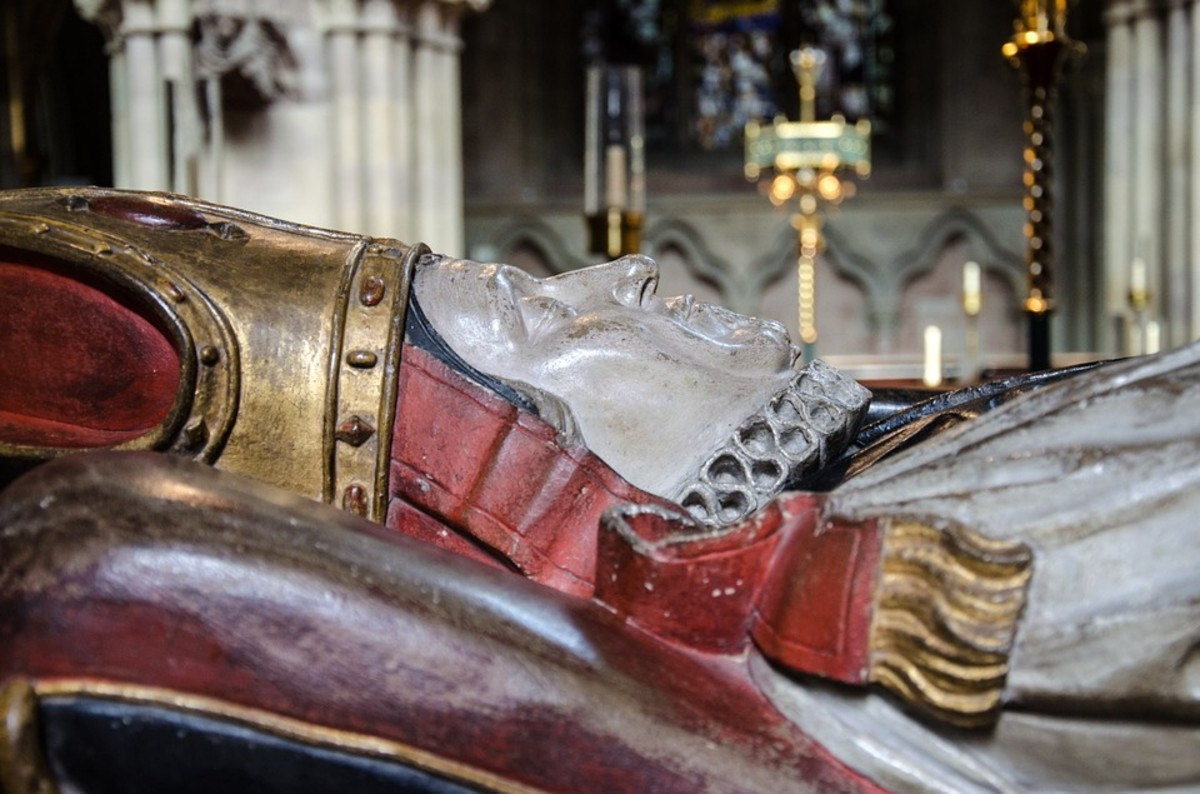 Five English Archbishops Who Died Violently
