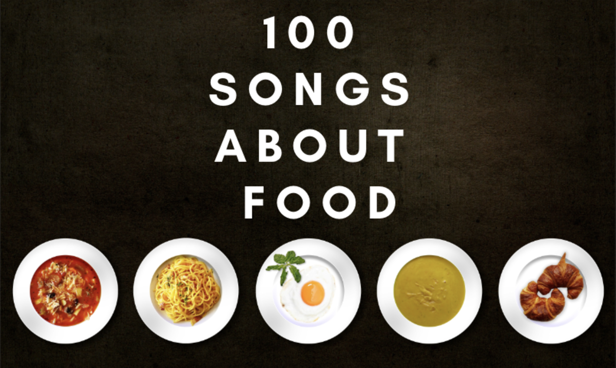 Food metaphors in songs appear more frequently than you'd think!