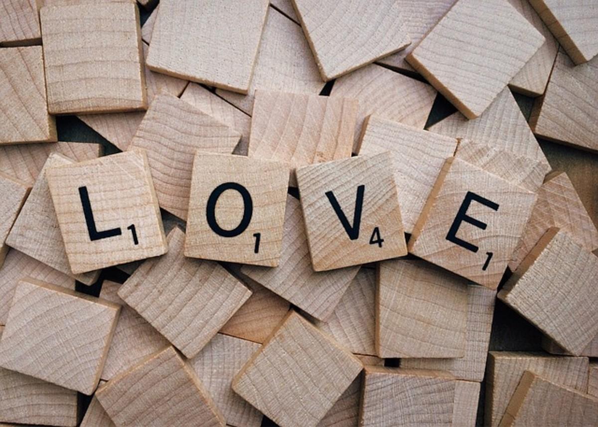 Love (Scrabble Word)