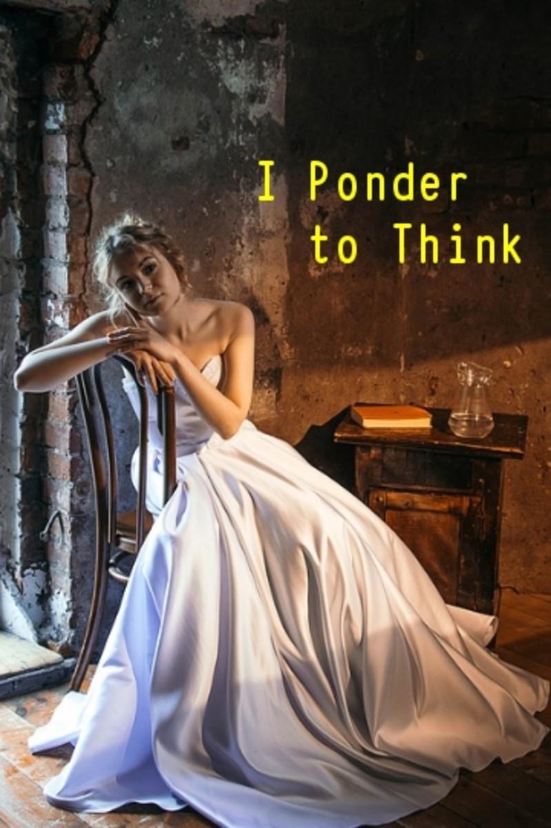 Poem:  To Ponder Being Homeless