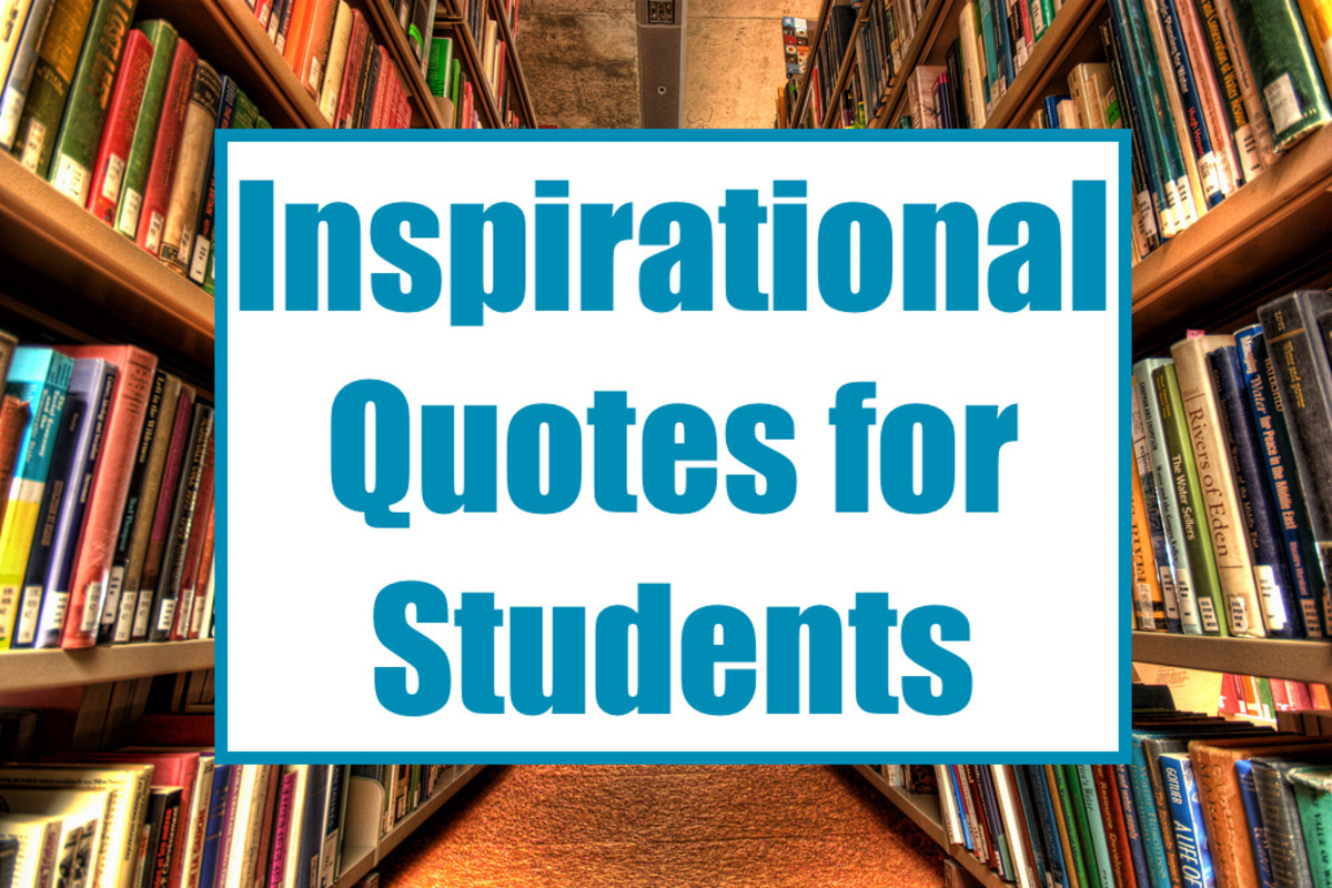 This article lists 30 inspirational and motivational quotes for students.
