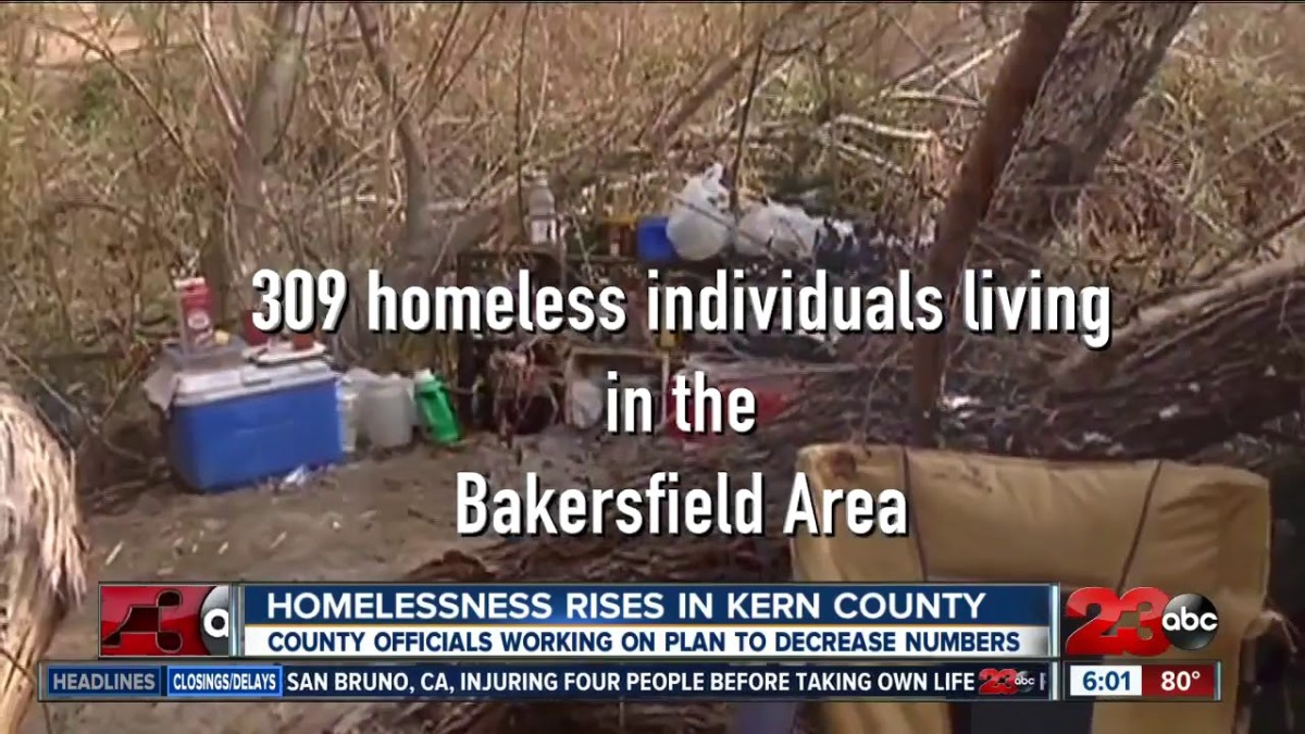 How the Other Half Lives on the Streets of Bakersfield: A Look at Some of the Homeless