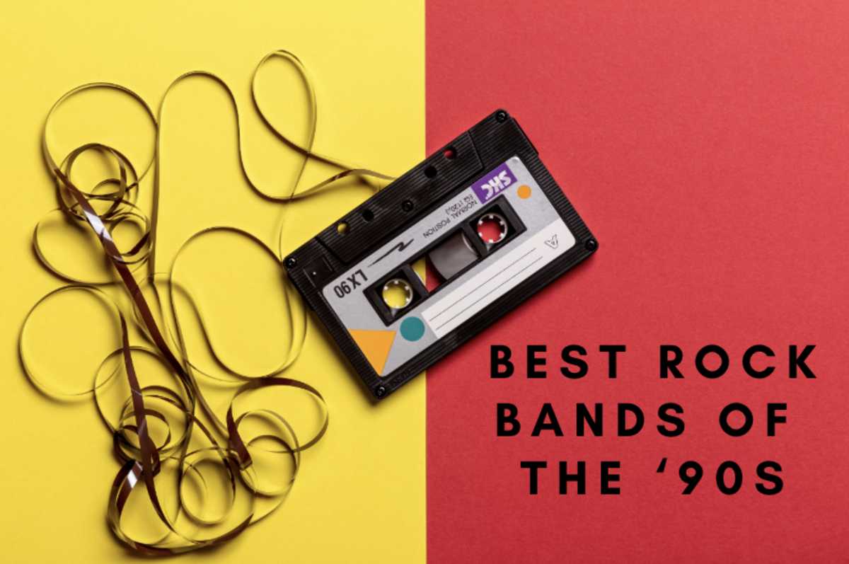 Learn the best bands of the 1990s!