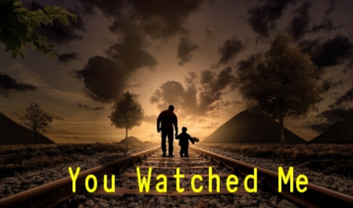 Poem:  You Watched Me