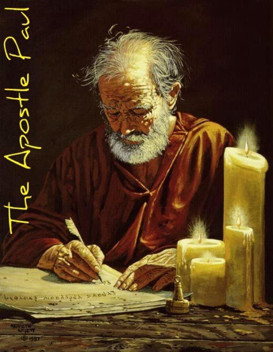 Apostle Paul: Writer of Most of the New Testament
