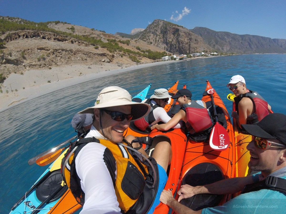 Sea Kayaking in Crete
