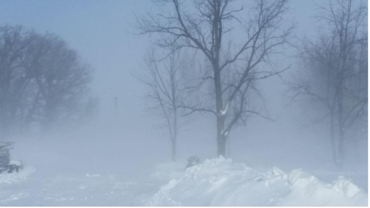 polar vortex blizzard