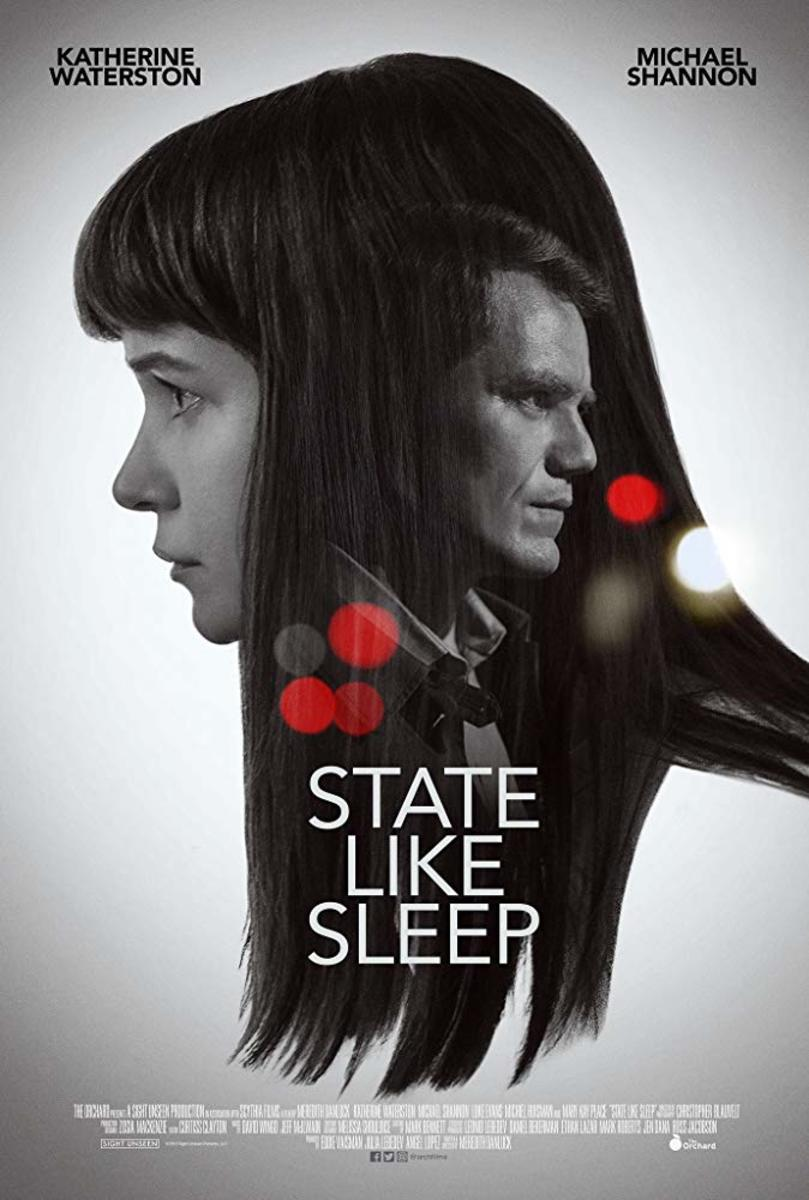 "The official poster for The Orchard's, ""State Like Sleep."""