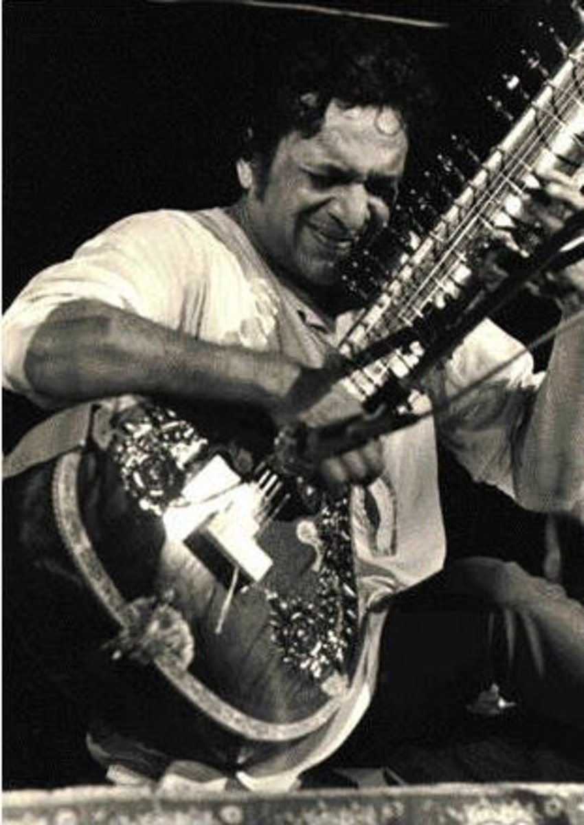 Ravi Shankar at Woodstock