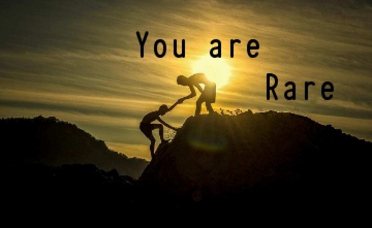 Poem:  You are a Rare Friend
