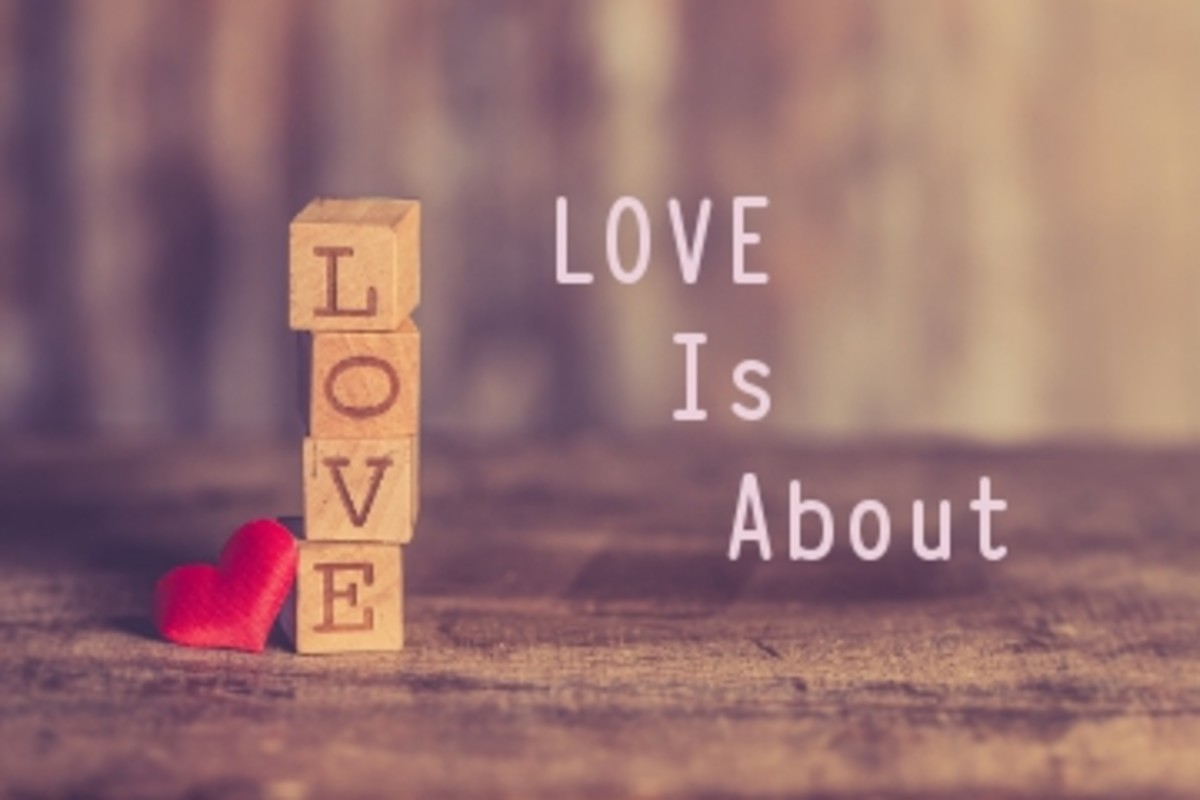 Poem:  Love is About