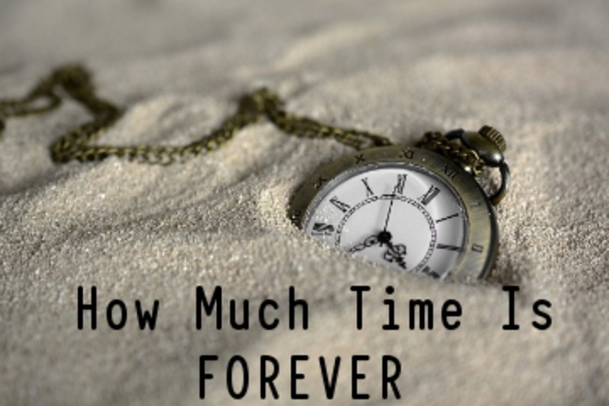 Poem:  How much Time is Forever