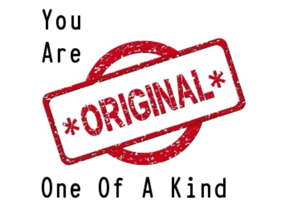 Poem:  You Are One of a Kind