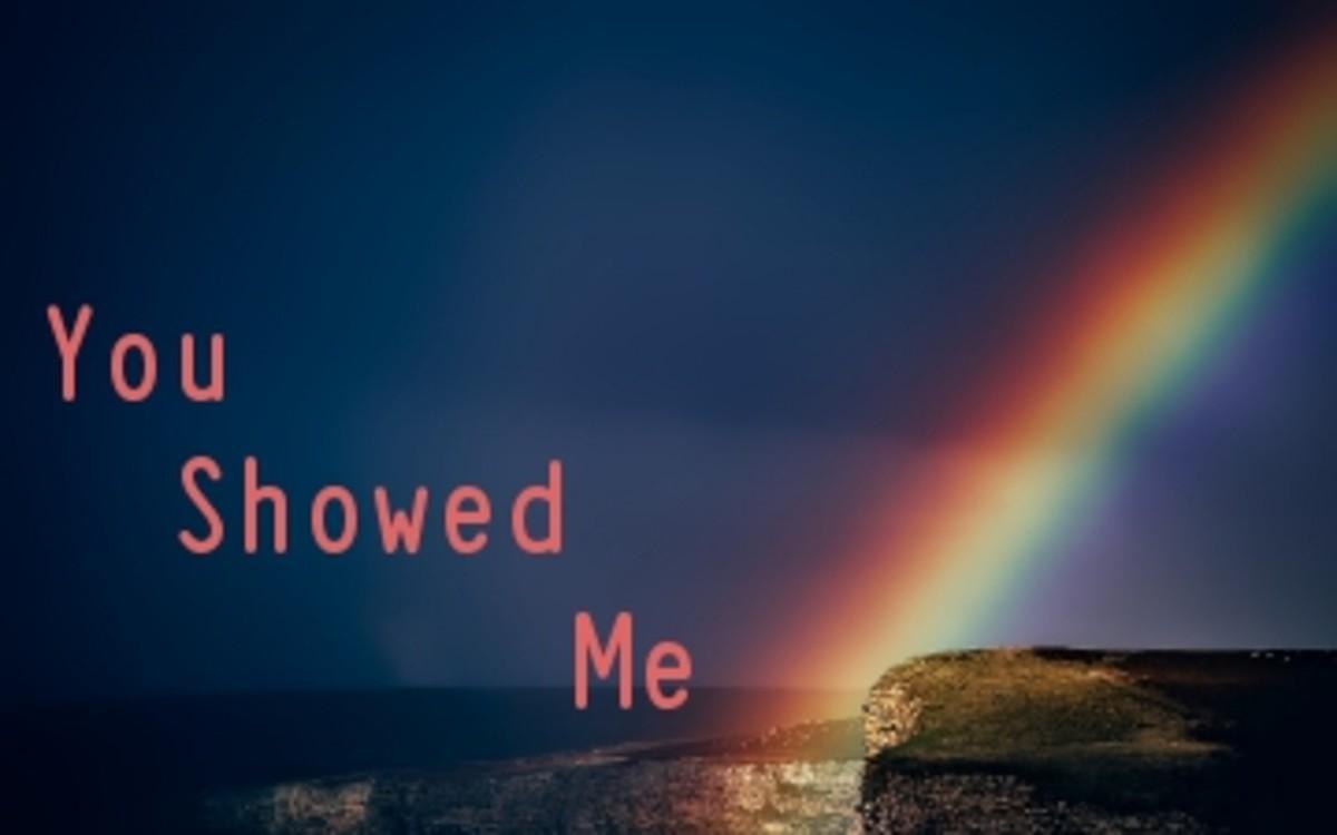 Poem: You Showed Me