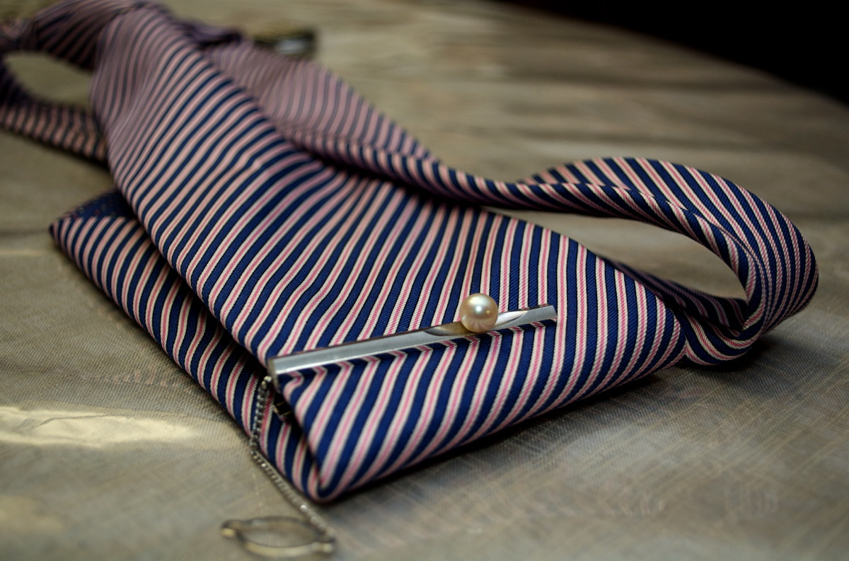 The first resale business I started is an online store offering vintage tie clips and lapel pins that is still operational today.