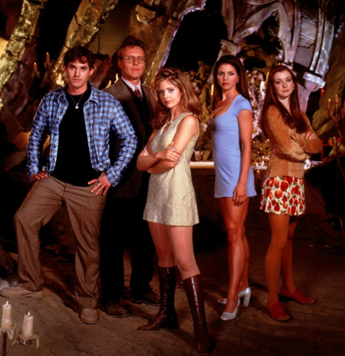 Where is the Buffy the Vampire Slayer Cast at now?  Here they are in 1997 when the show premiered!