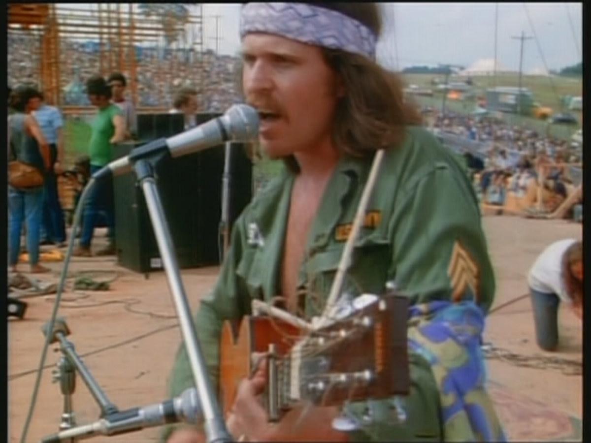 Woodstock Performers: Country Joe McDonald