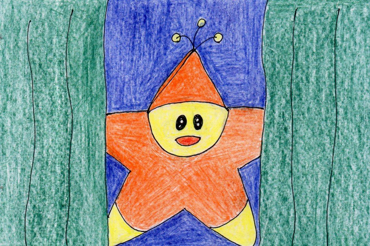 Stella, the inquisitive star, visit's Joshua's home.