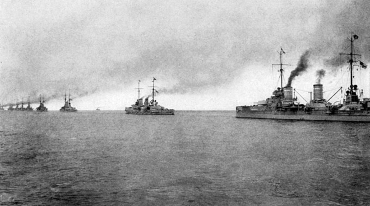 German Imperial Navy Ships - 1917