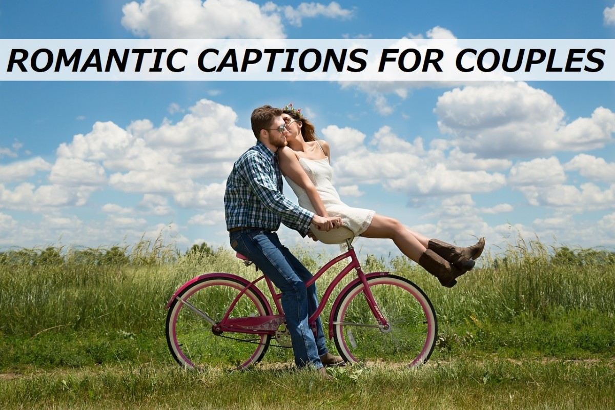 100+ Romantic Captions for Couple Pictures