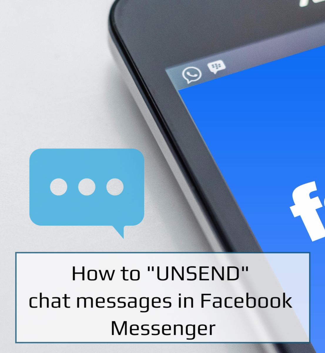 Unsend is a feature in Messenger that allows you to permanently remove a message for everyone in the chat.