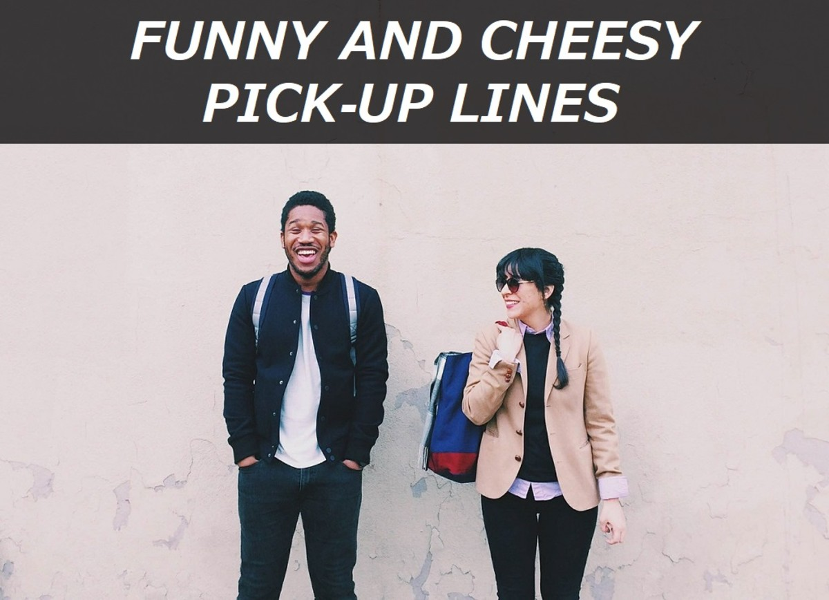 Funny and Cheesy Pick-Up Lines