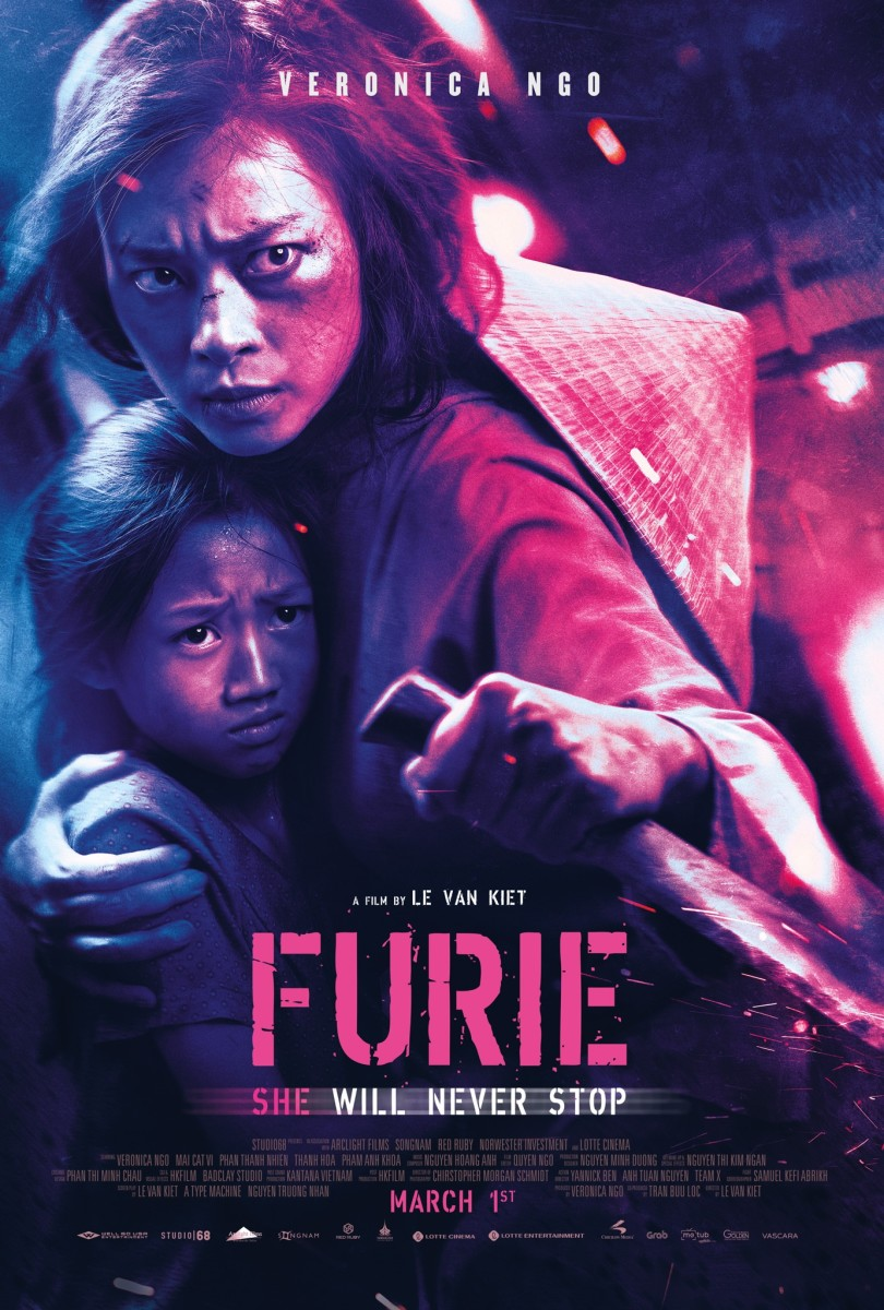 "The official theatrical poster for Well Go USA's, ""Furie."""