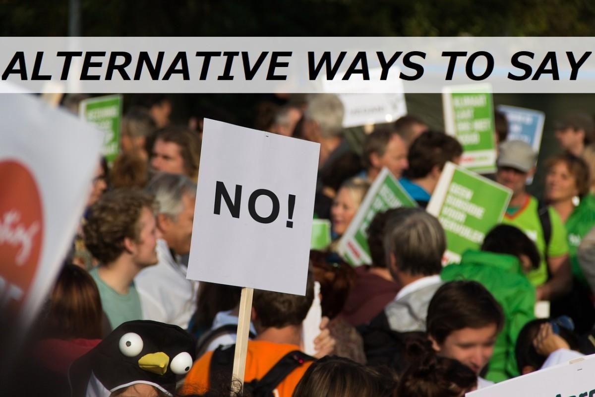 """250+ Alternative Ways to Say """"No"""""""