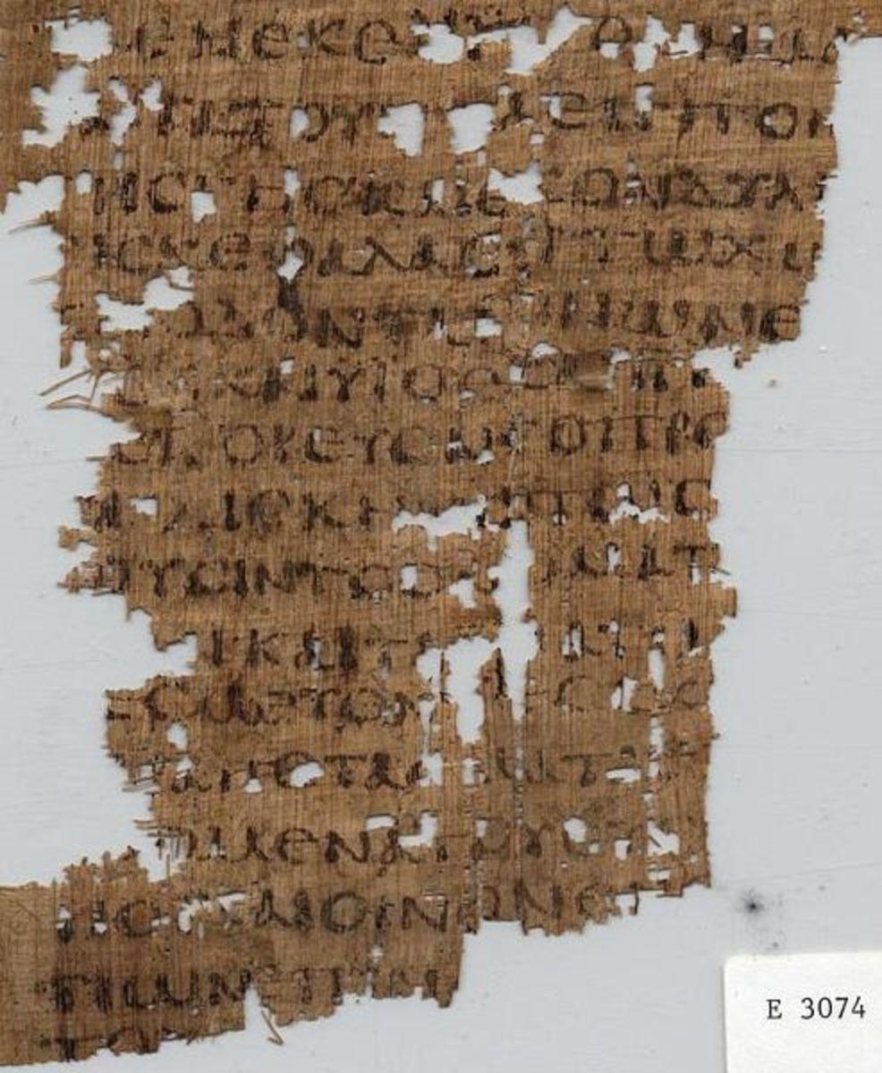 Papyrus Oxyrhynchus 846: Amos 2 (LXX)