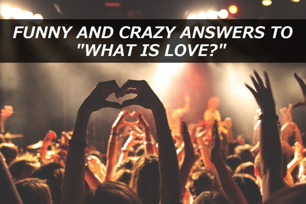 "100+ Funny and Crazy Answers to ""What Is Love?"""
