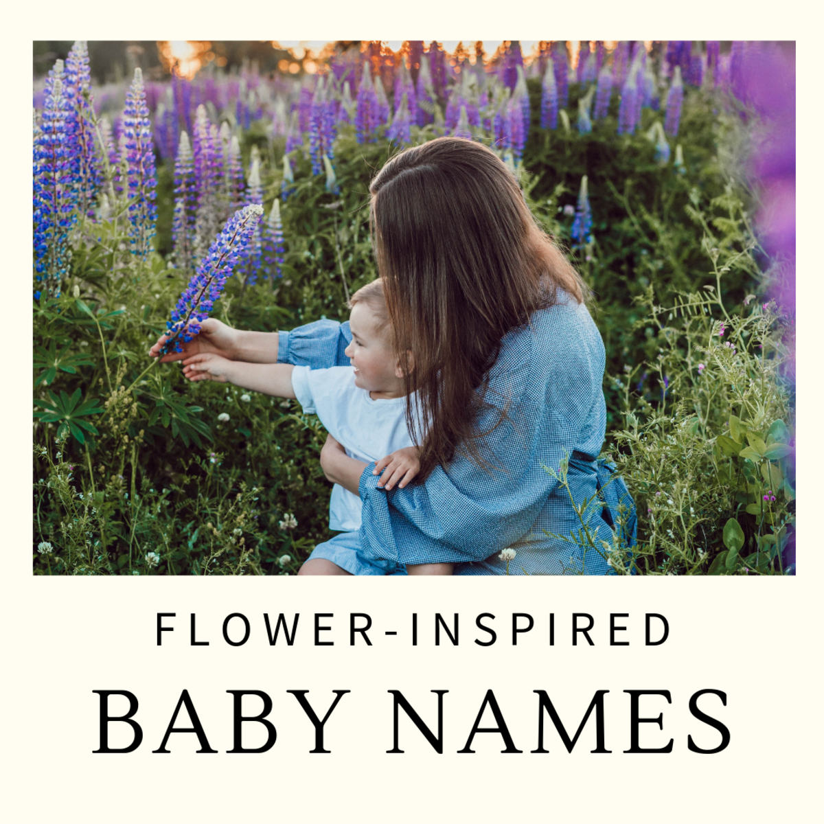 Flower-Inspired Baby Girl Names