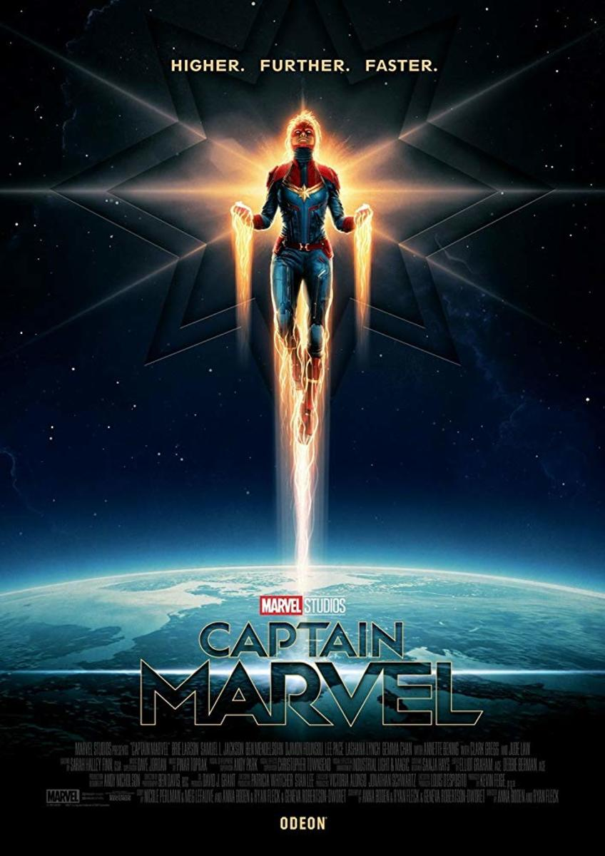'Captain Marvel' (2019) A Space-Cop Movie Review