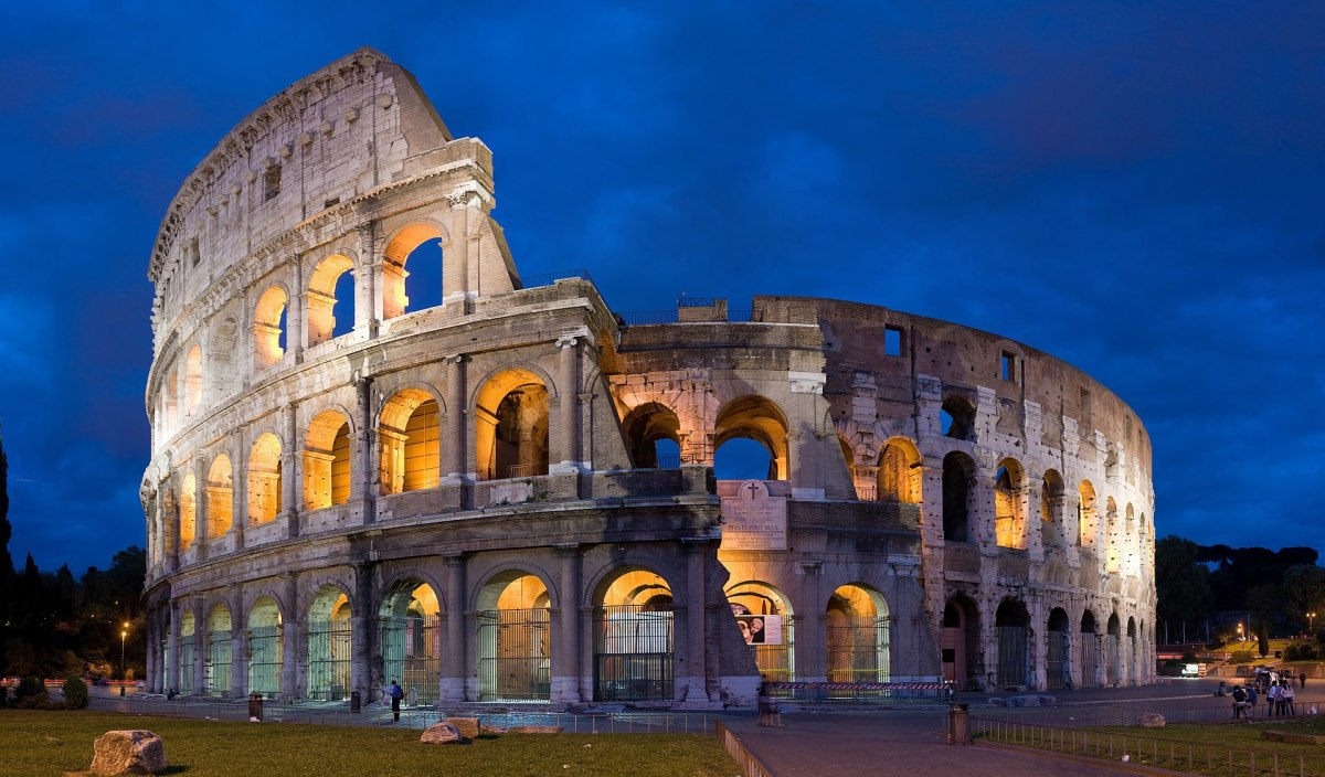 Roman Colosseum (Modern-Day)