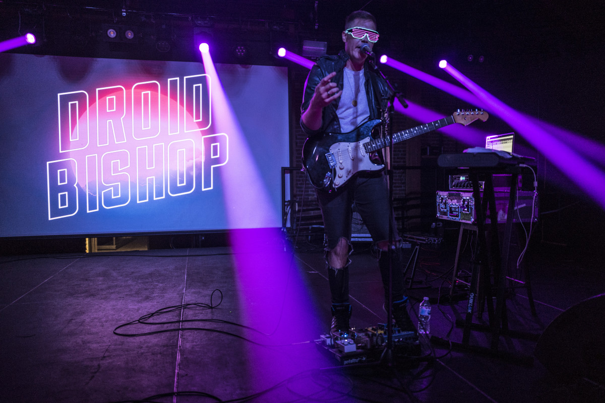 An Interview With Synthwave Artist Droid Bishop