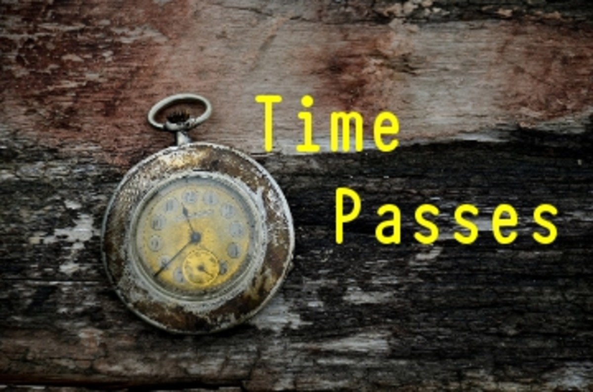 Poem: Time Passes