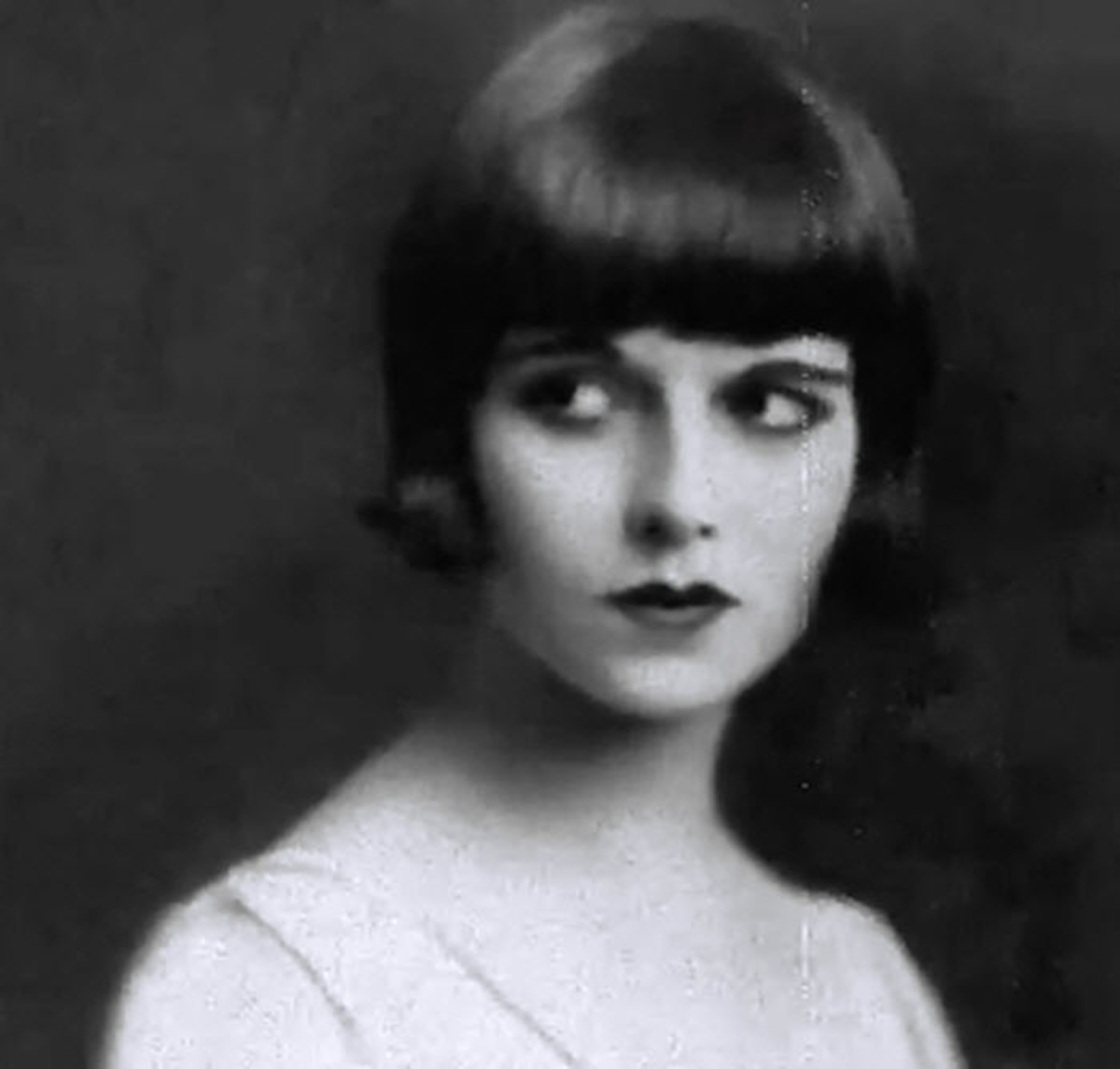 Louise Brooks, nicknamed Lulu