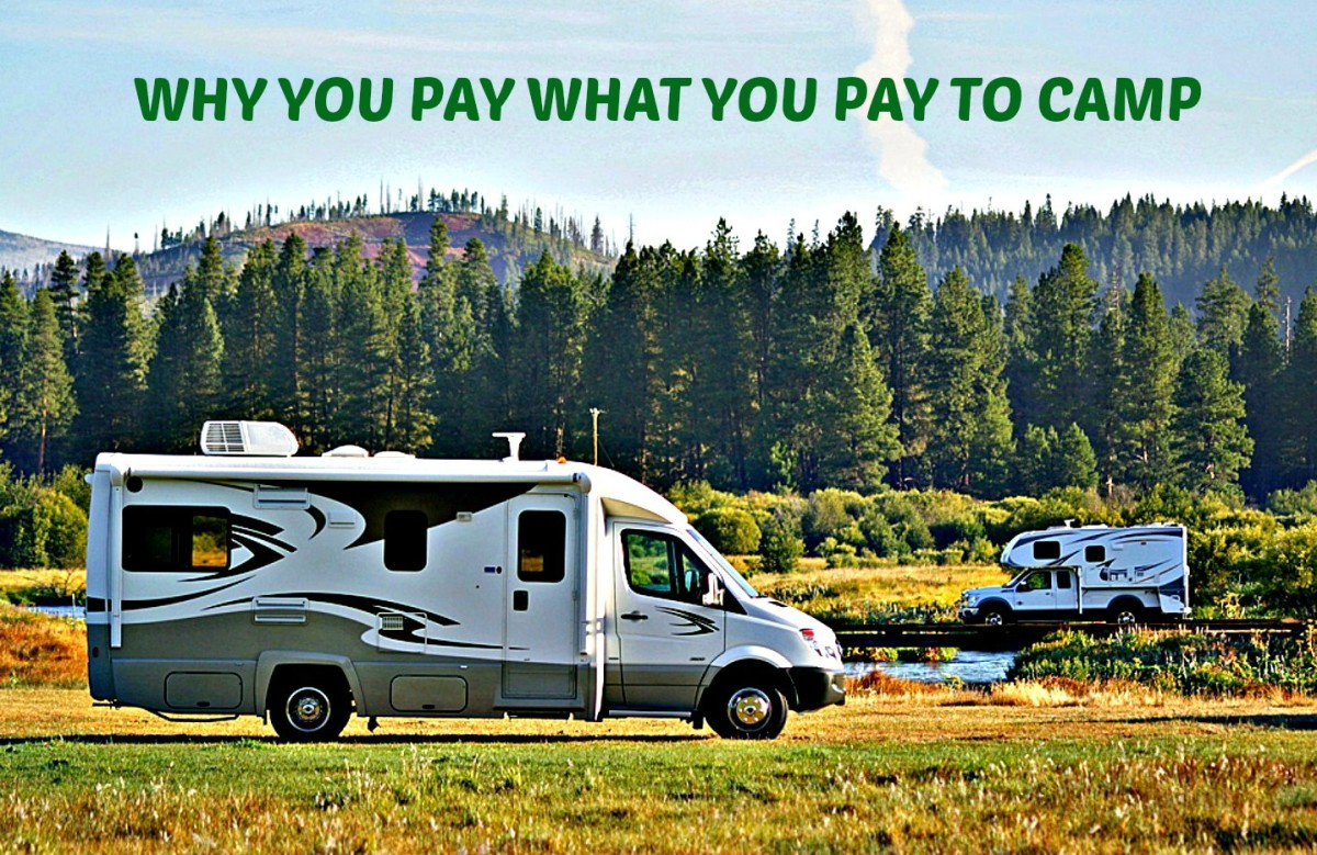 Learn the reasons behind campsite costs so that you can make better travel choices.