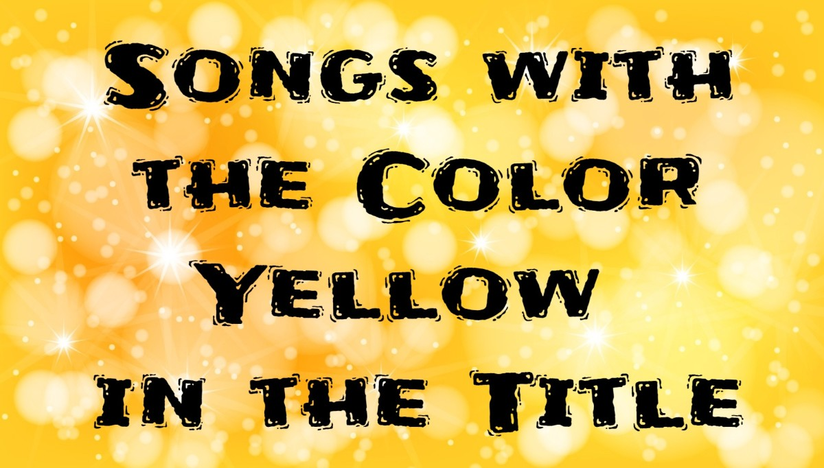 42 Songs with the Color Yellow in the Title