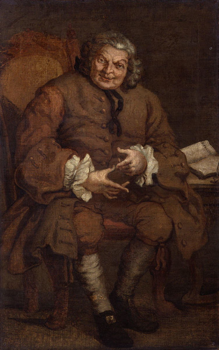 Simon Fraser, Lord Lovat as painted by William Hogarth.