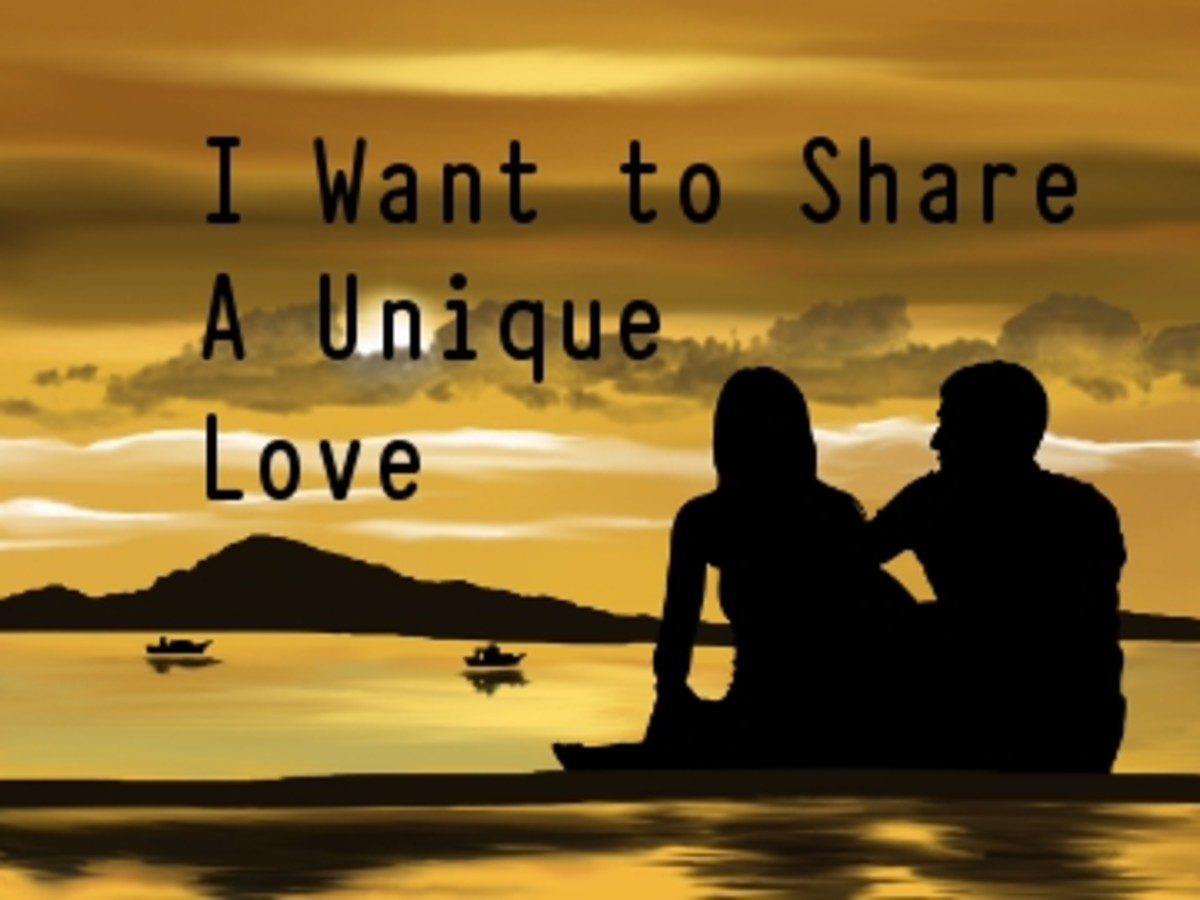 Poem:  I Want to Share a Unique Love