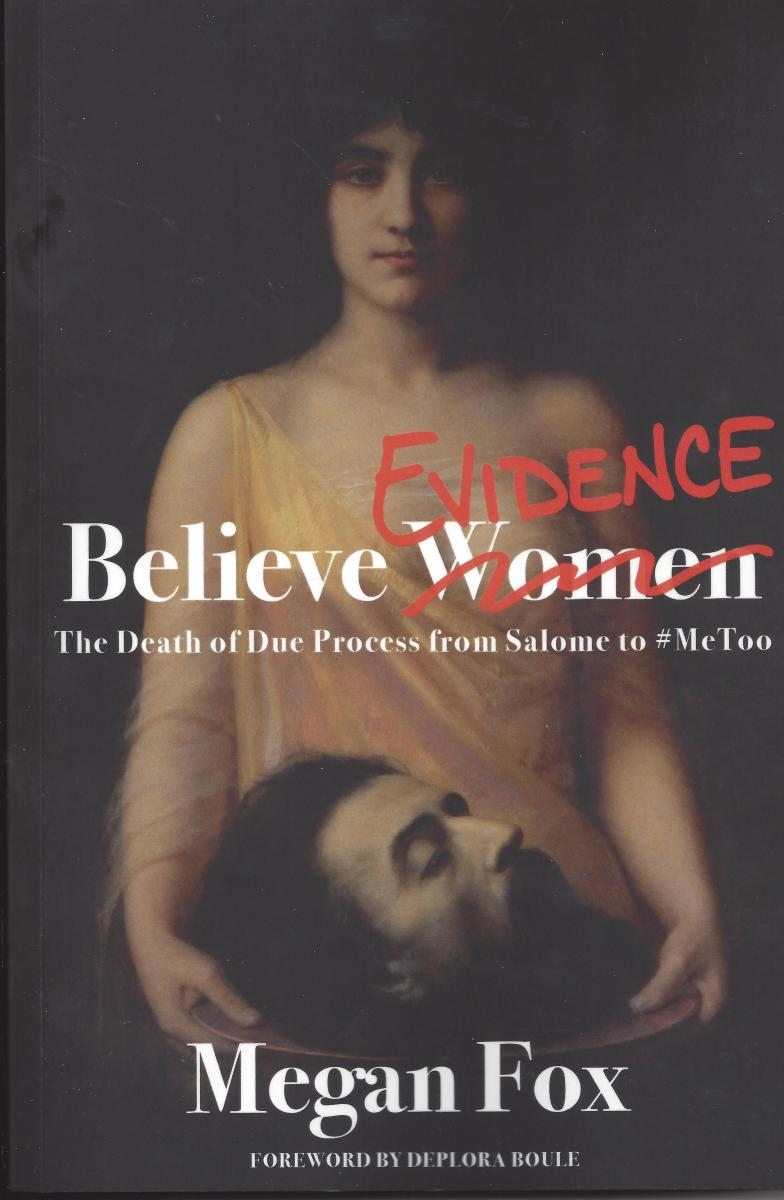 "The Cover of ""Believe Evidence"" by Megan Fox"