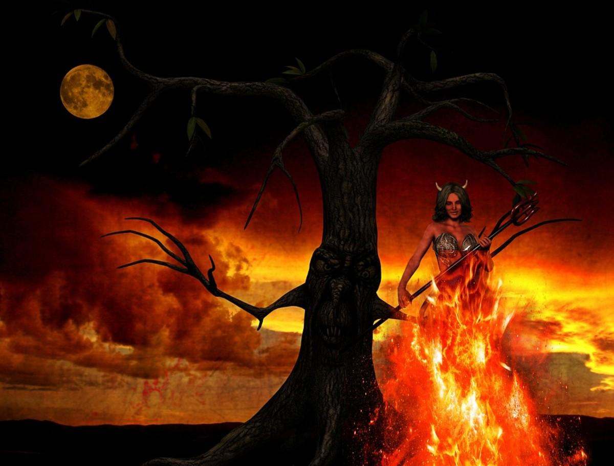 The devil is a beautiul woman...