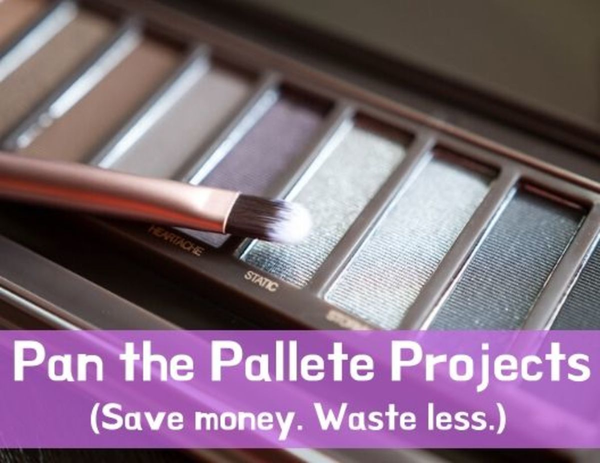 If you're stuck in a rut with your makeup, why not try a Pan the Pallette project?