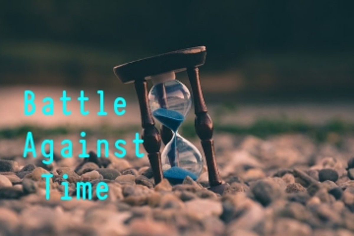 Poem:  Battle Against               Time