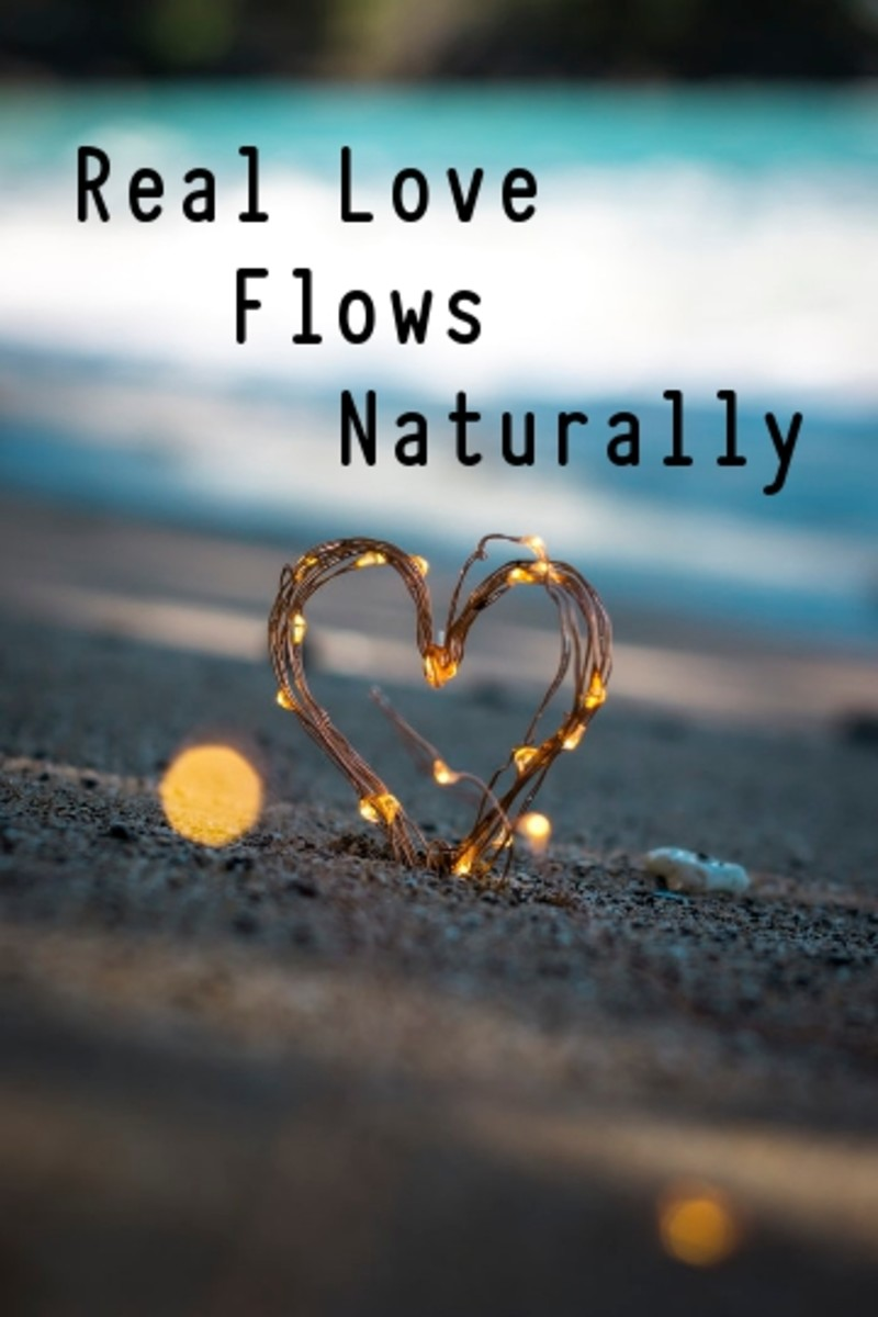 Poem:  Real Love Flows Naturally