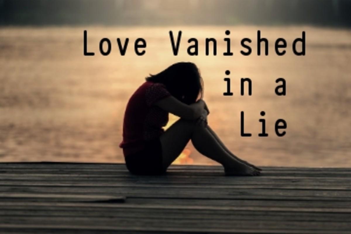 Poem:  Love Vanished in a Lie