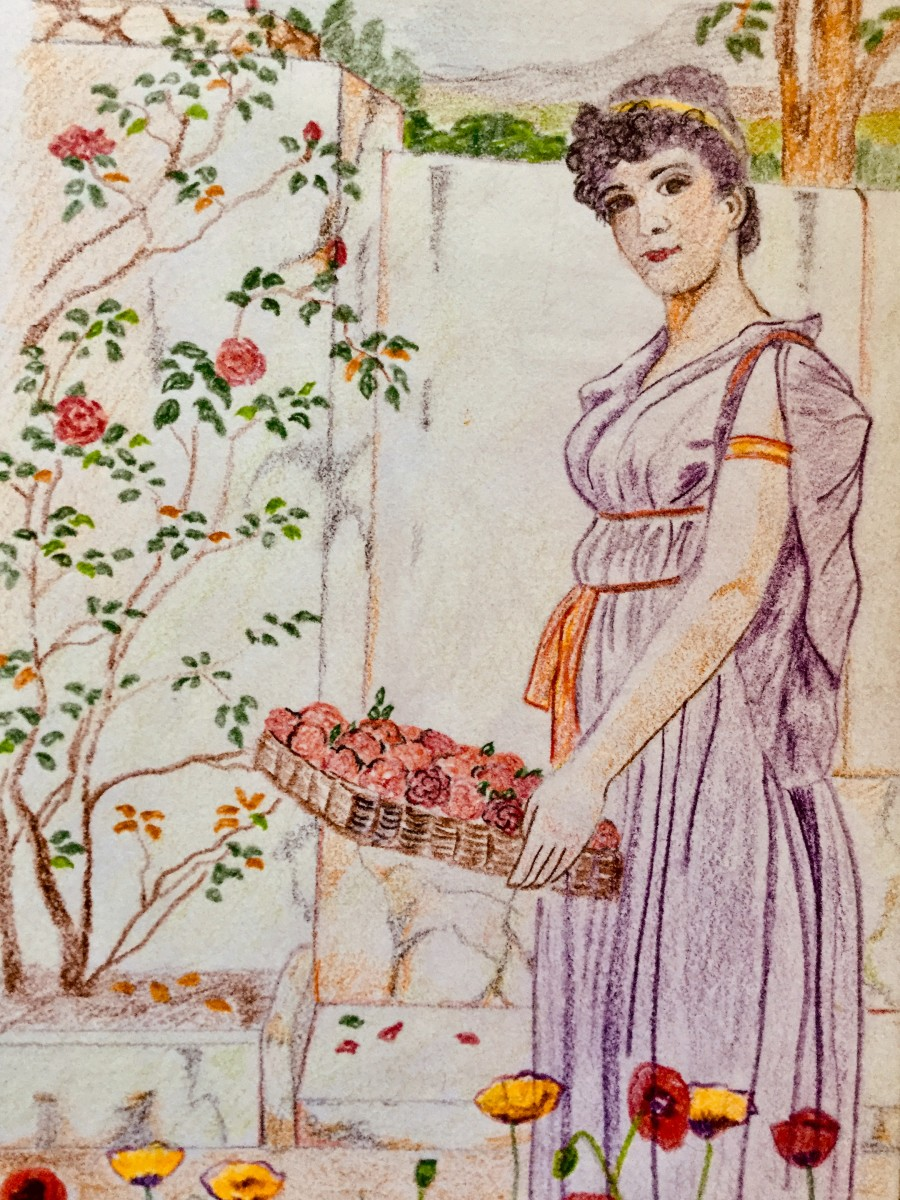 The Flower Girl - a Poem