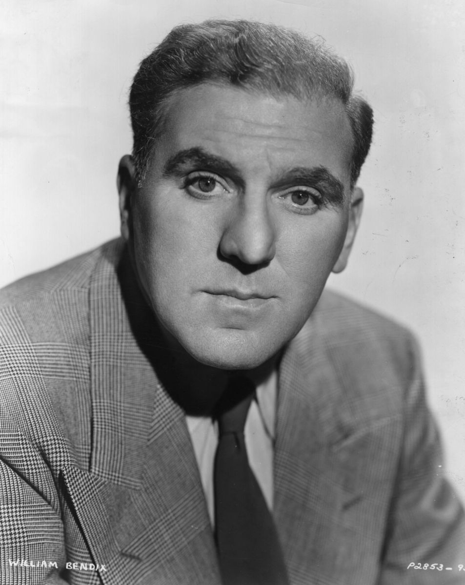 """William Bendix, the star of """"The Life of Riley."""""""